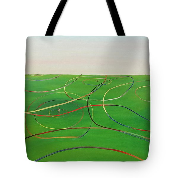 Ripples Of Life 1 Tote Bag