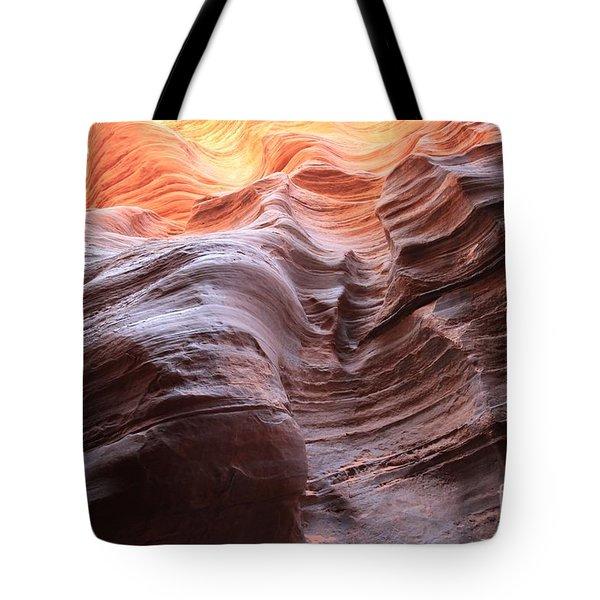 Ripples Of Light Tote Bag
