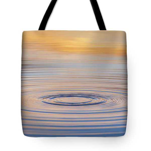 Ripples On A Still Pond Tote Bag