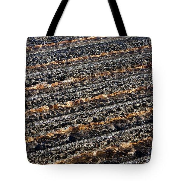 Ripples Tote Bag by Steven Ralser