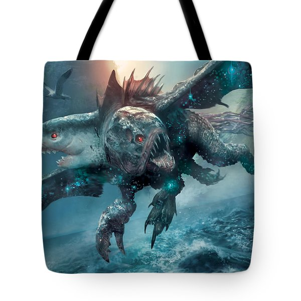 Riptide Chimera Tote Bag