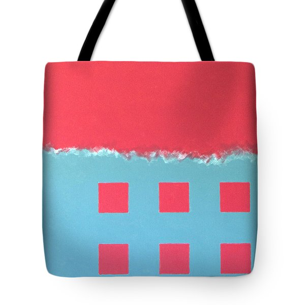 Tote Bag featuring the painting Riptide by Thomas Gronowski