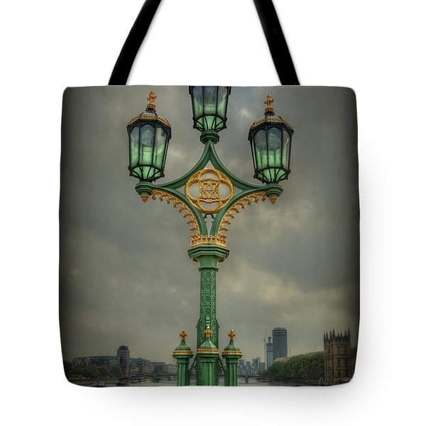 Rise Above City Tote Bag