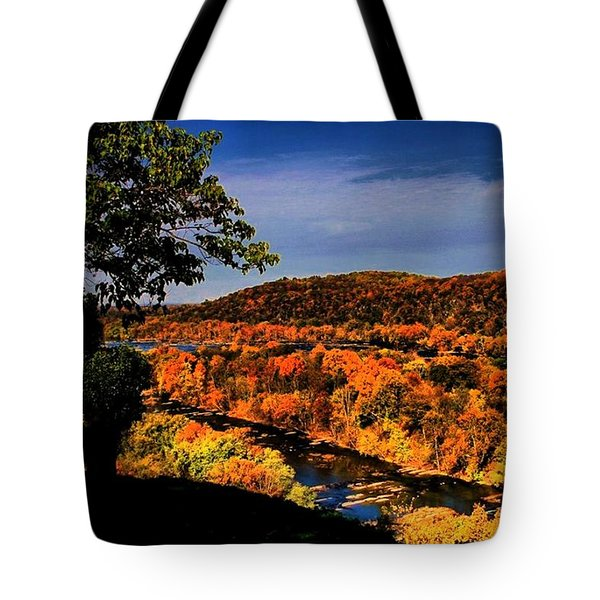 Tote Bag featuring the photograph Rise And Look Around You by Robert McCubbin
