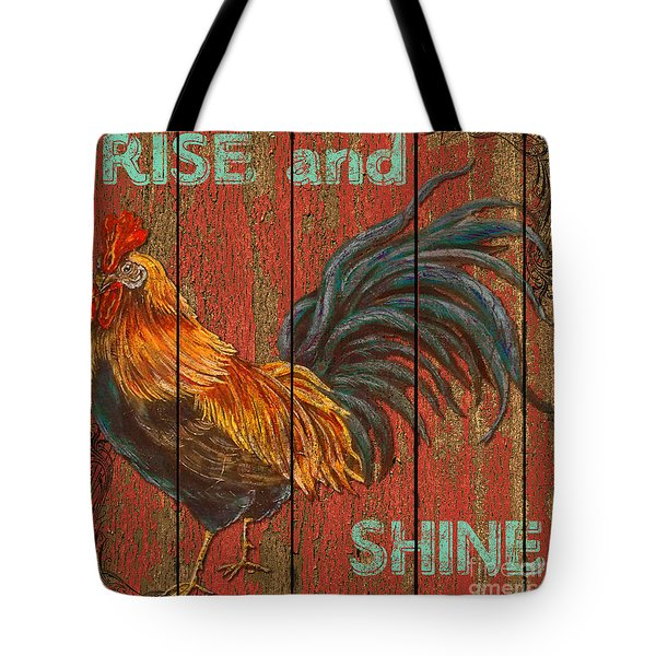 Rise And Shine Tote Bag by Jean PLout