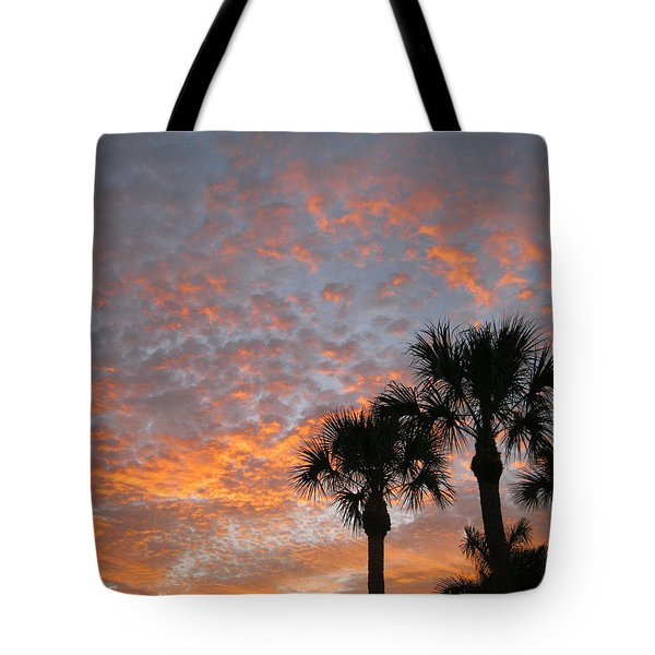 Rise And Shine. Florida. Morning Sky View Tote Bag