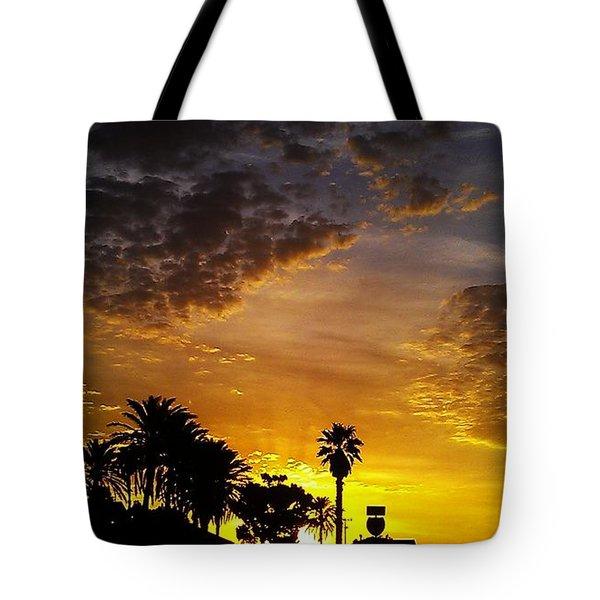 Rise Tote Bag by Chris Tarpening