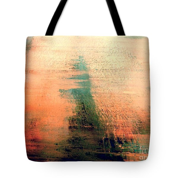 Tote Bag featuring the painting Rise by Jacqueline McReynolds