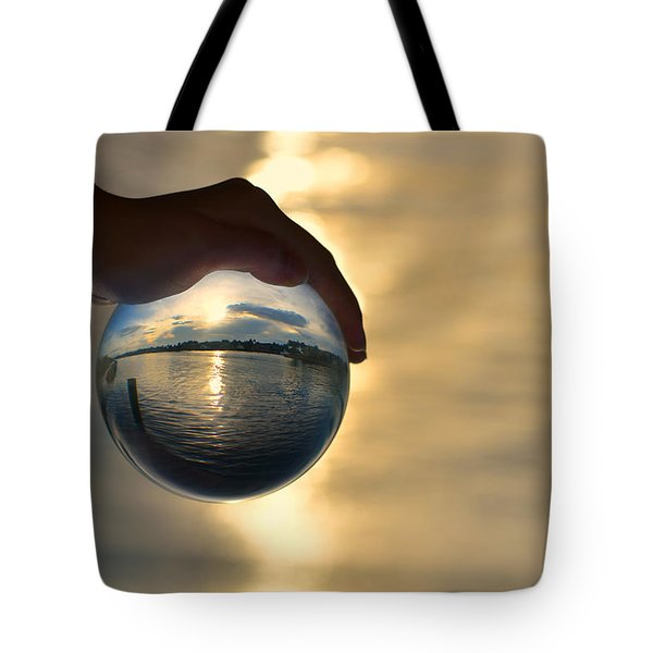 Rise Tote Bag by Laura Fasulo