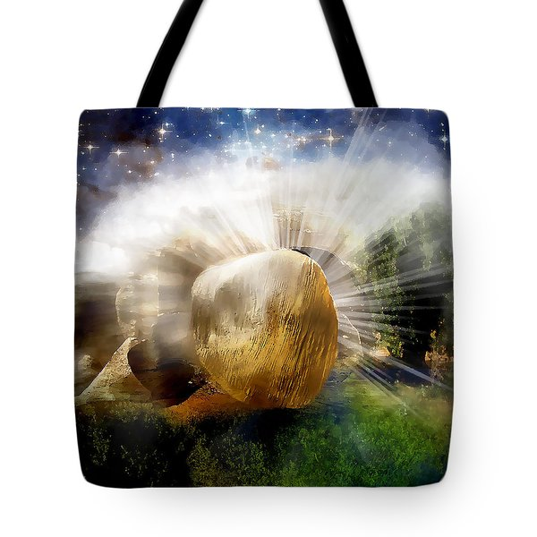 Tote Bag featuring the digital art Risen by Jennifer Page