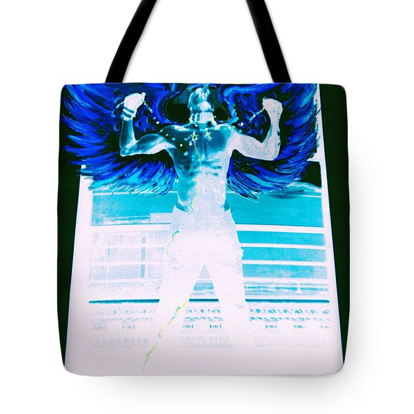 Rising Angel Tote Bag