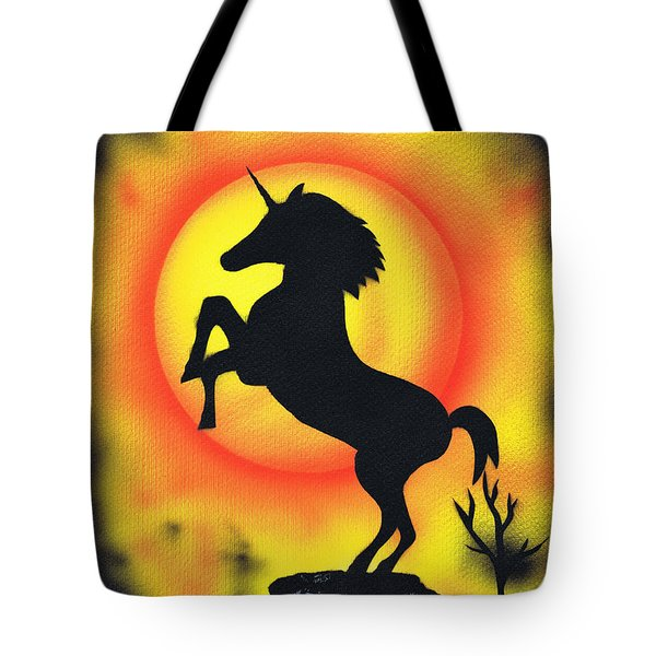 Rising Tote Bag by Kenneth Clarke