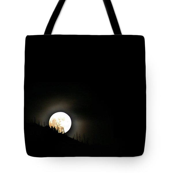 Rising Moon Tote Bag