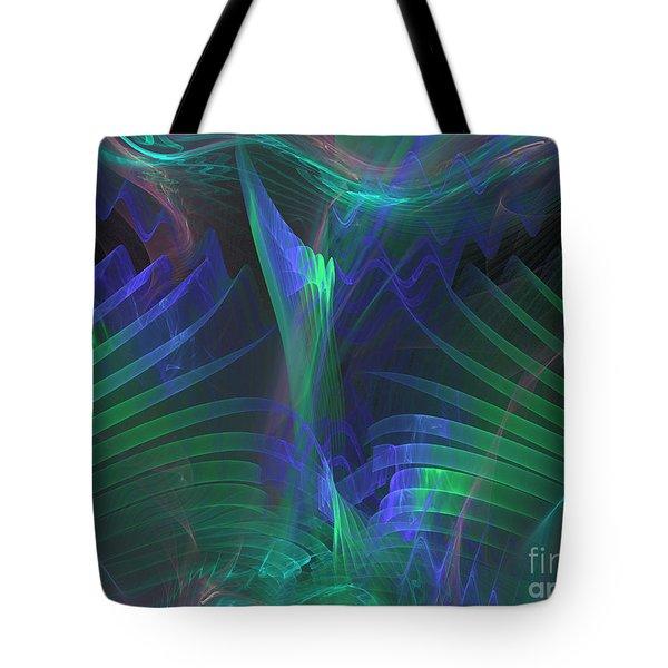 Rising Palm Tote Bag