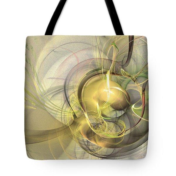Rising - Abstract Art Tote Bag