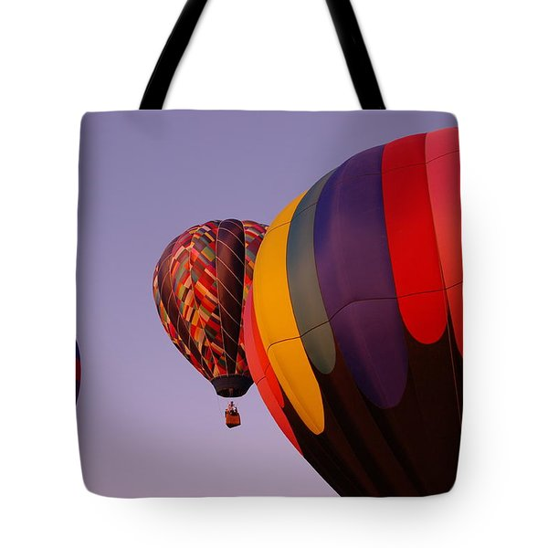 Rising Skyward Tote Bag