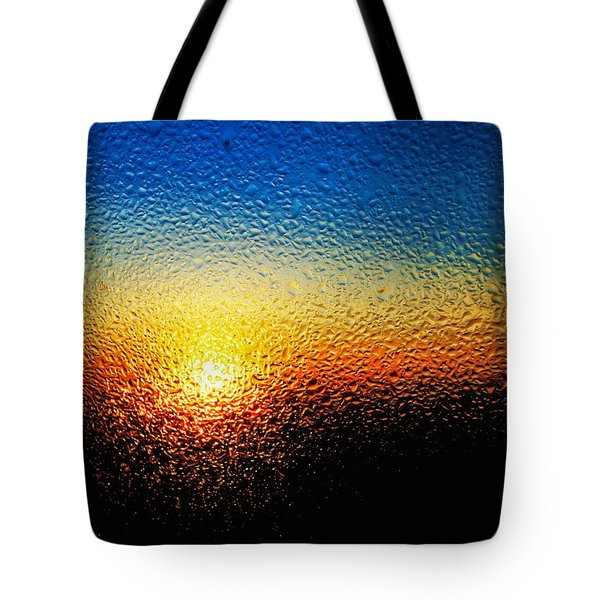 Rising Sun Tote Bag by Tom Druin