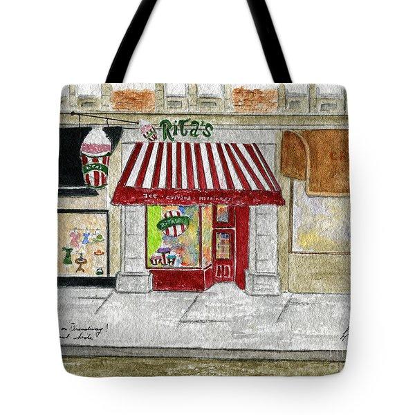 Rita's Italian Ice Tote Bag