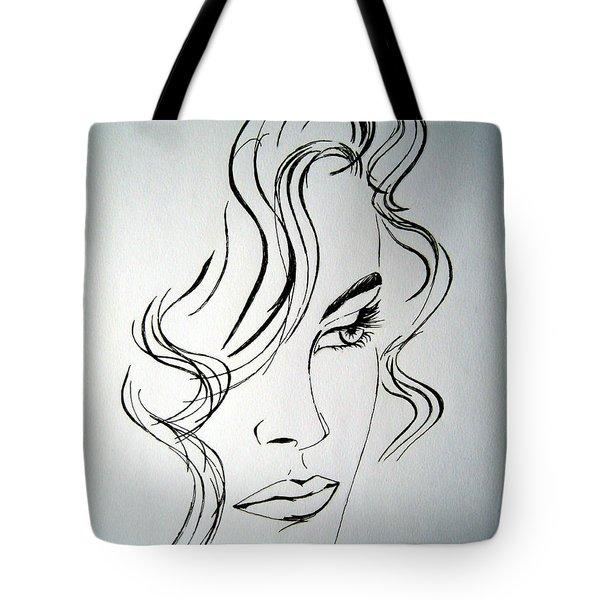 Ritratto Di Una Donna Sconosciuta - Portrait Of An Unknown Woman Tote Bag