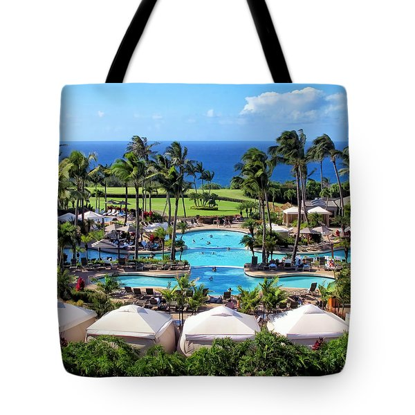 Ritz Carlton 17 Tote Bag by Dawn Eshelman