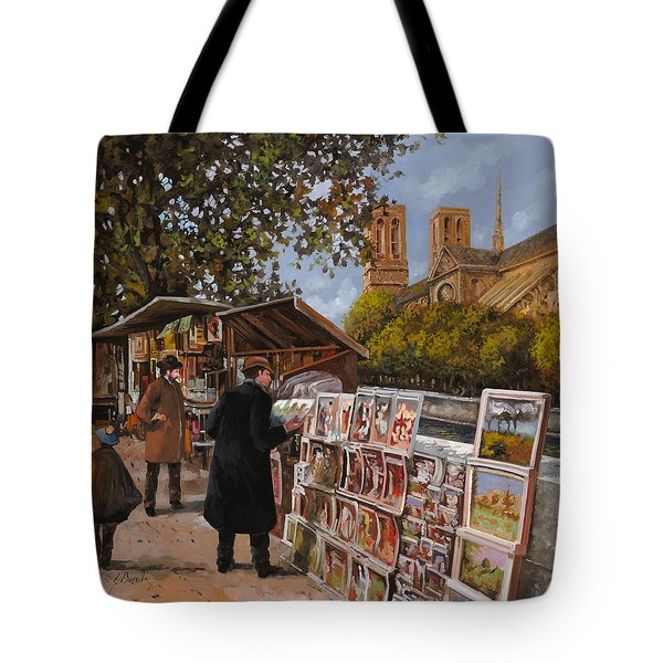 Rive Gouche Tote Bag by Guido Borelli