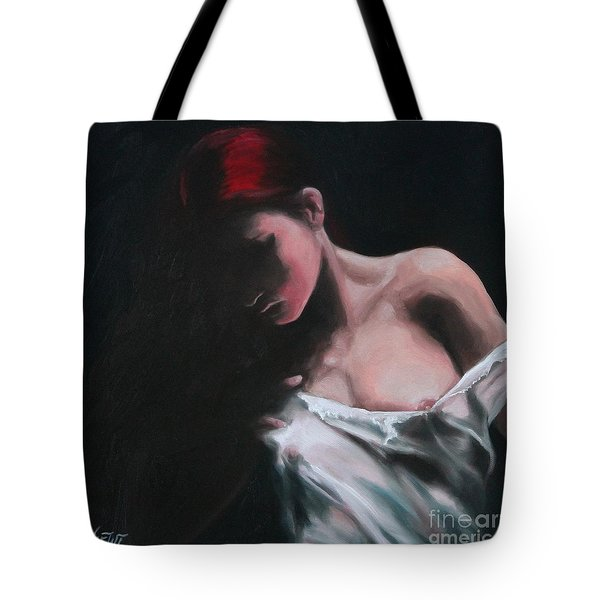 Riven Tote Bag by Jindra Noewi