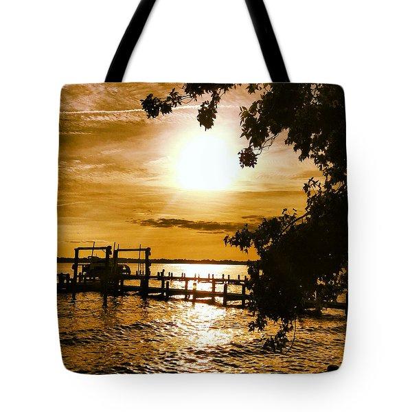River Acres Jaynes Sunset Tote Bag