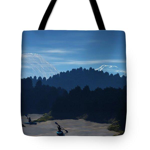 River Adventure Tote Bag