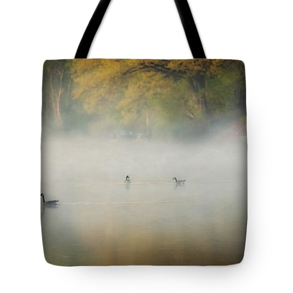 River At Sunrise Tote Bag by Everet Regal