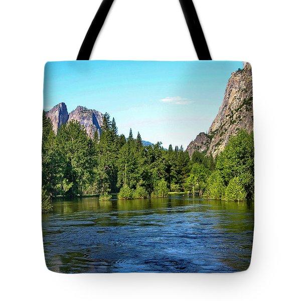 Yosemite National Park Tote Bag by Menachem Ganon