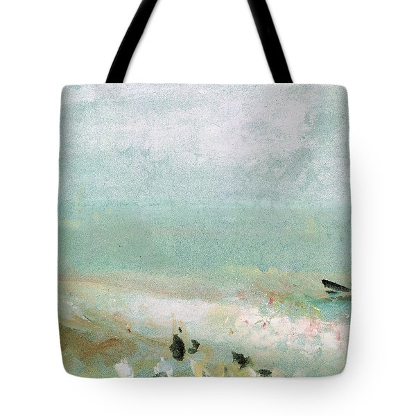 River Bank Tote Bag by Joseph Mallord William Turner