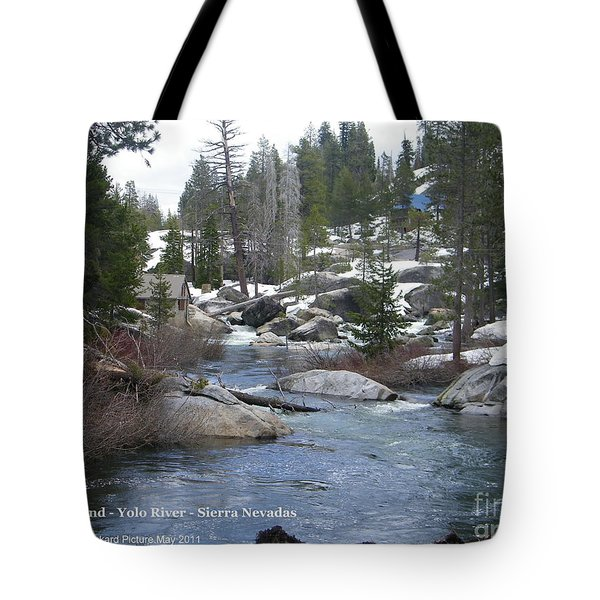 Tote Bag featuring the photograph River Bend  by Bobbee Rickard