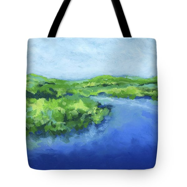 River Bend Tote Bag by Stephen Anderson