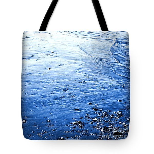 Tote Bag featuring the photograph River Blue by Robyn King