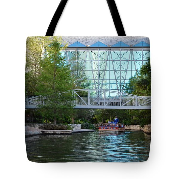 Tote Bag featuring the photograph River Boating  by Shawn Marlow