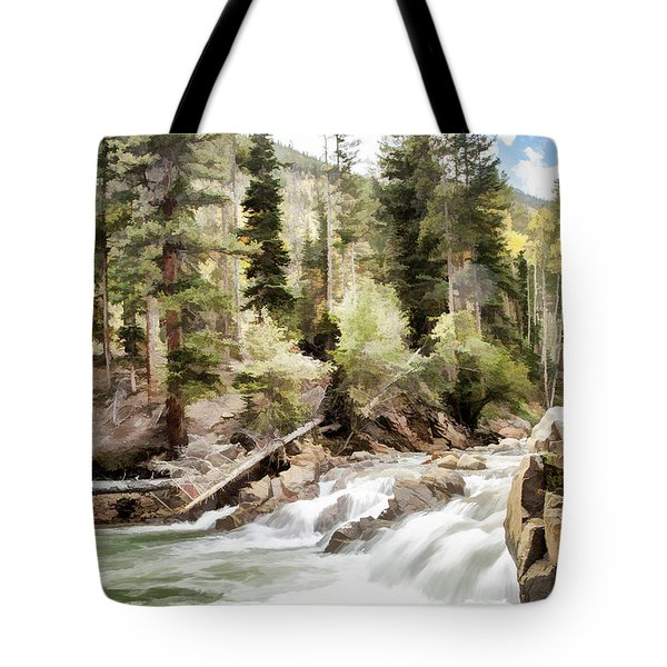 River Boulders Tote Bag