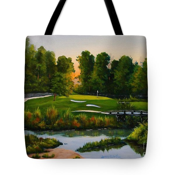 River Course #16 Tote Bag