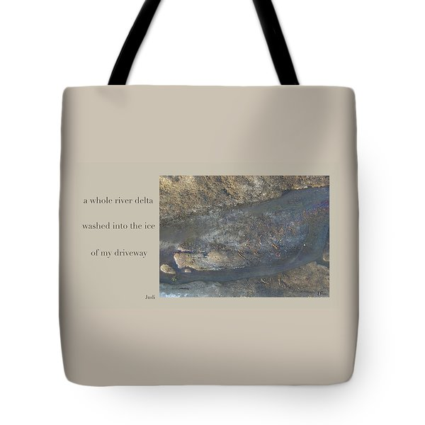 River Delta Haiga Tote Bag