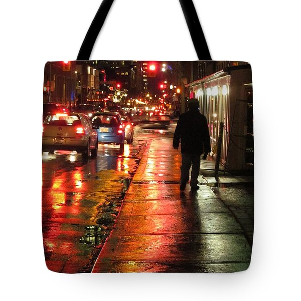 River Of Color Tote Bag