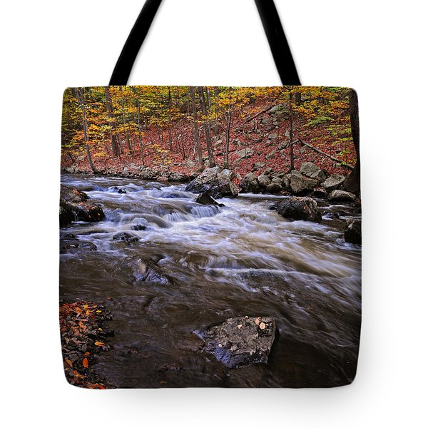 River Of Color Tote Bag by Dave Mills