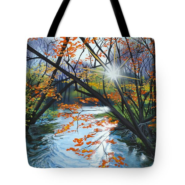 River Of Joy Tote Bag