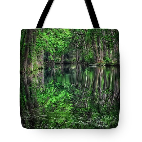 River Of Reflections Tote Bag