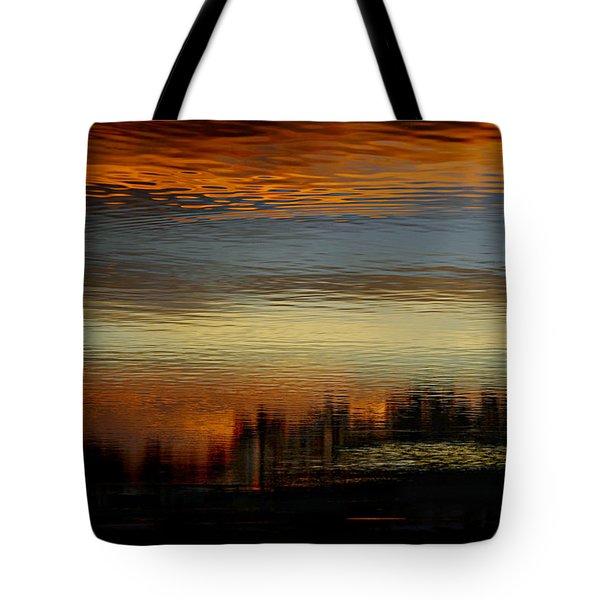 River Of Sky Tote Bag