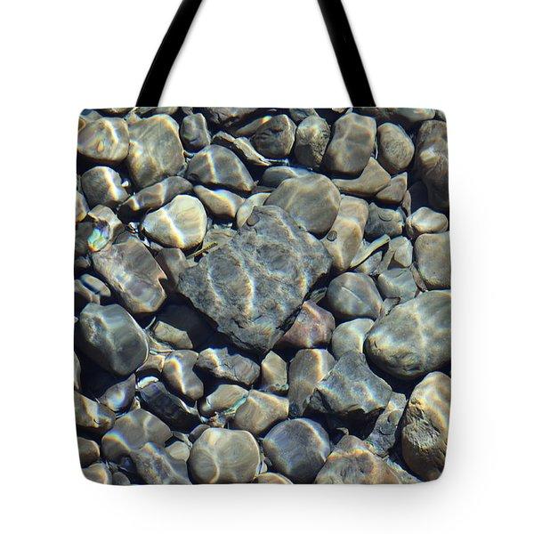 River Rocks One Tote Bag by Chris Thomas
