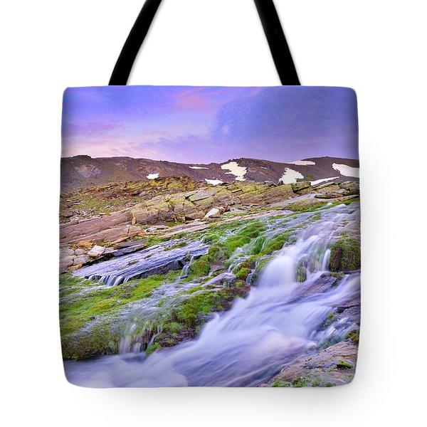 River San Juan Tote Bag by Guido Montanes Castillo
