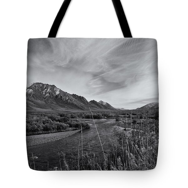 River Serenity Tote Bag by Priska Wettstein