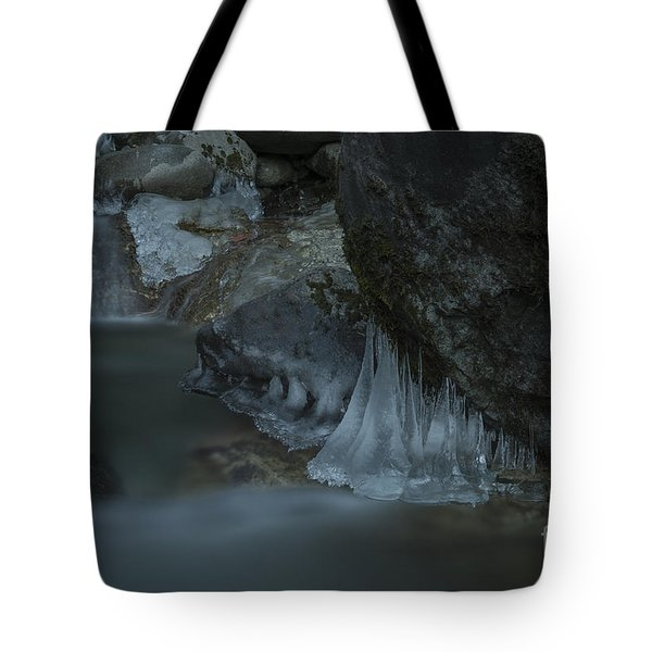 River Stalactites Tote Bag