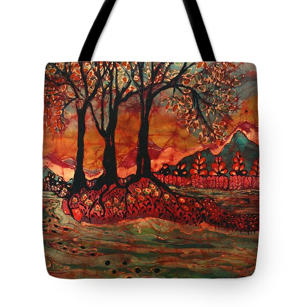 River Sunrise - Lothlorien Tote Bag