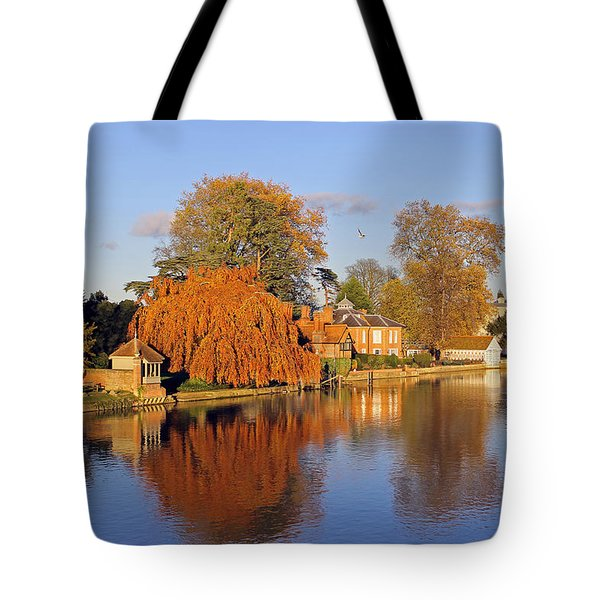 River Thames At Marlow Tote Bag