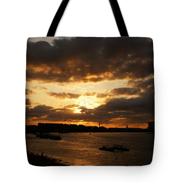 River Thames From Greenwich Tote Bag